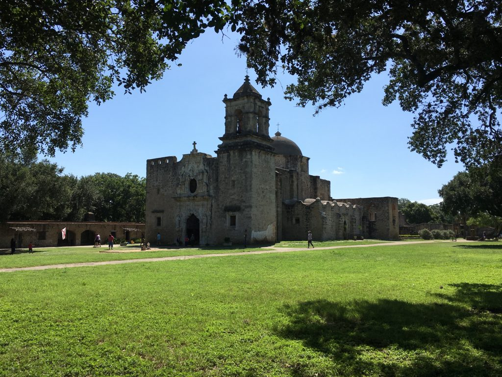 The church at Mission San Jose.