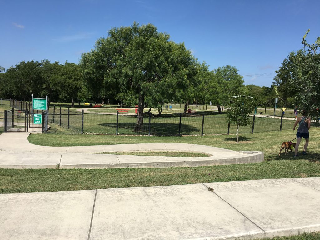 Pearsall Park Dog Park is one of the best dog parks in San Antonio.