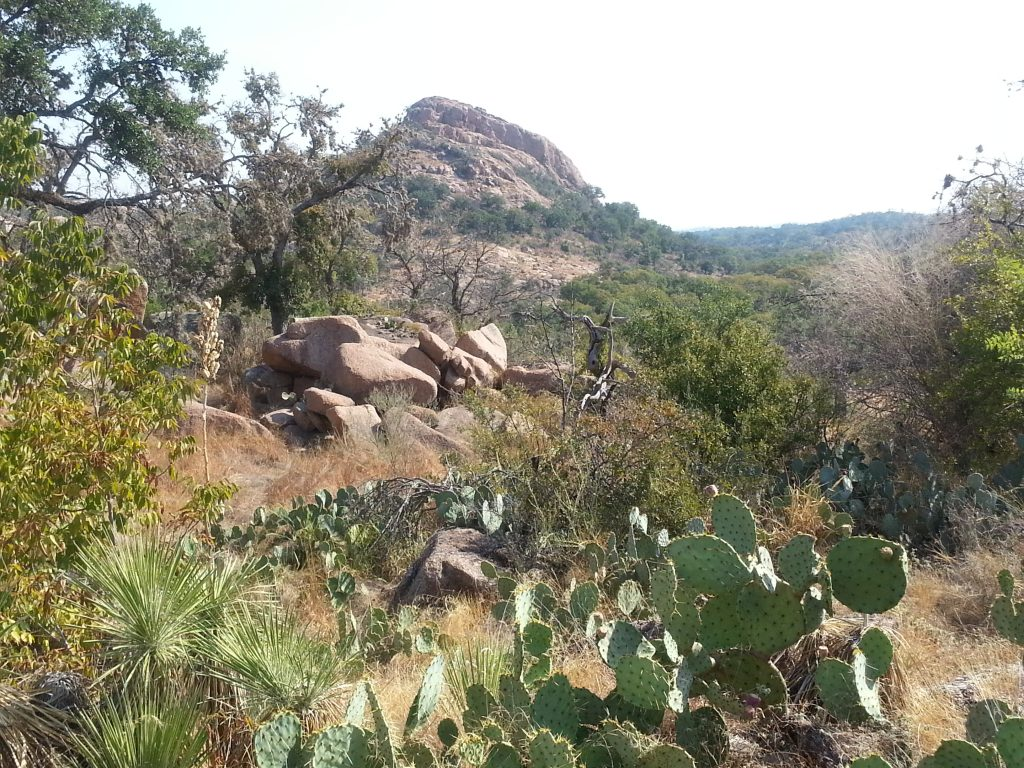 Enchanted Rock is one of my favorite places to hike.