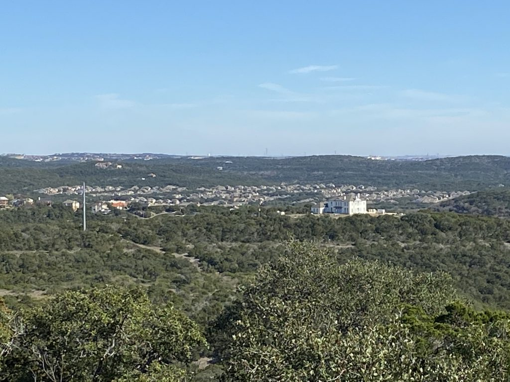 Government Canyon is on the edge of Texas Hill Country, but it has a fair share of hills and views.