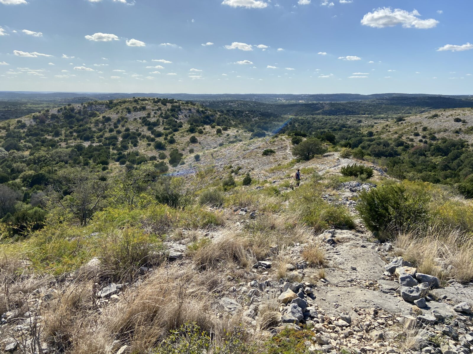 The Barbado Ridge Trail at Kickapoo Cavern State Park is simply awesome as Texas Hill Country transitions into Big Bend Country.