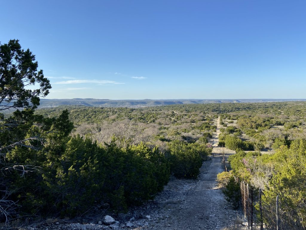 Hiking trails in Texas Hill Country are a great way to get fit outside.