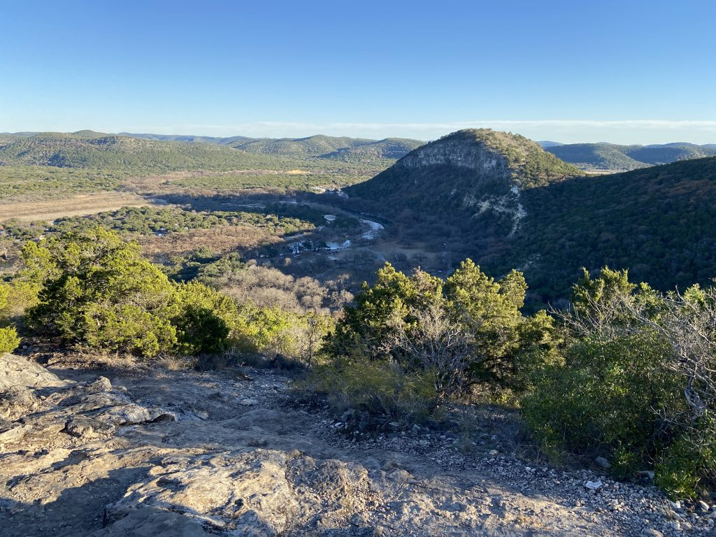 San Antonio has zero mountains, but there are thousands of hills such as Old Baldy at Garner State Park in Hill Country.