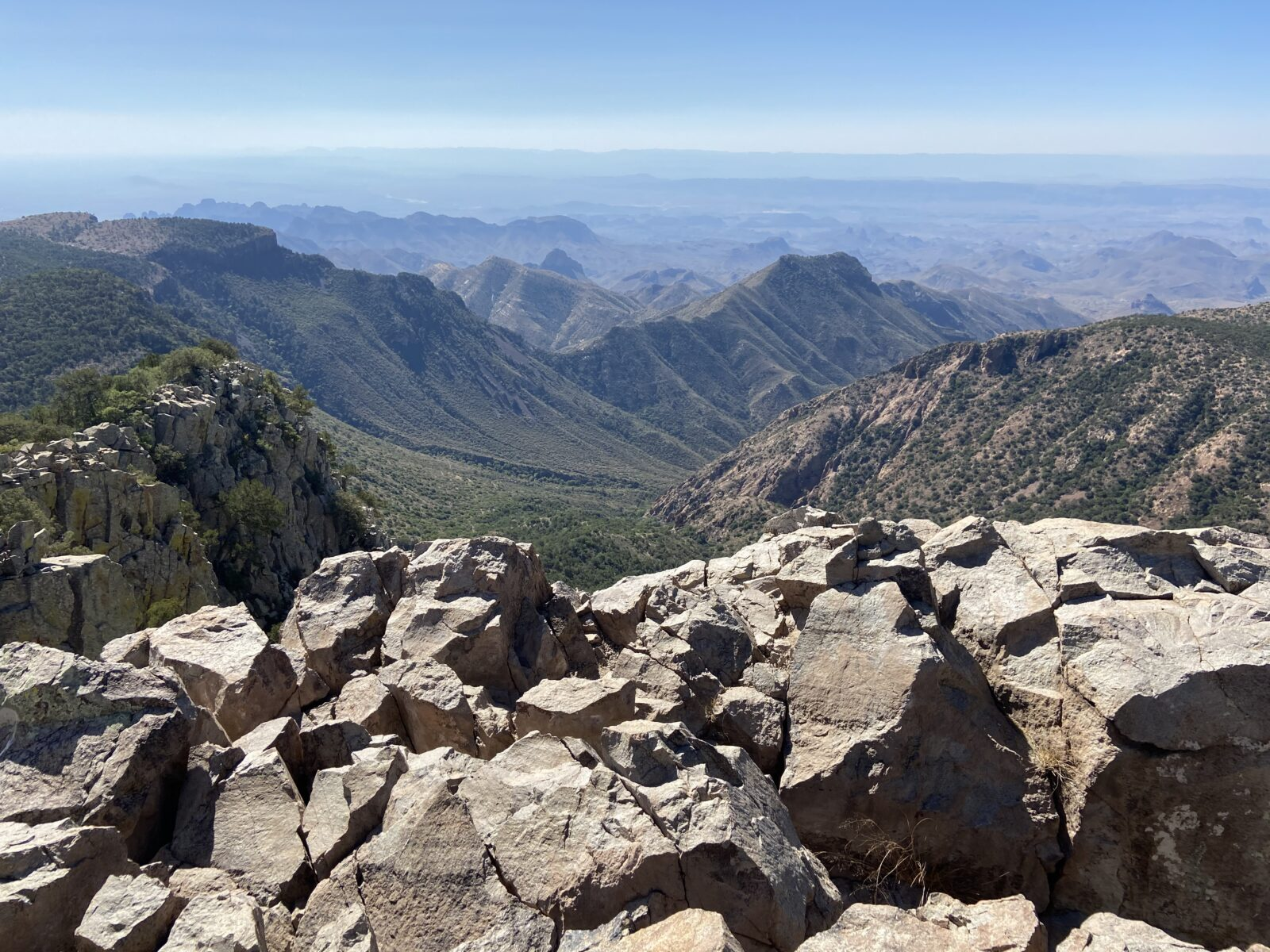 The view of Big Bend National Park from Emory Peak is truly special.