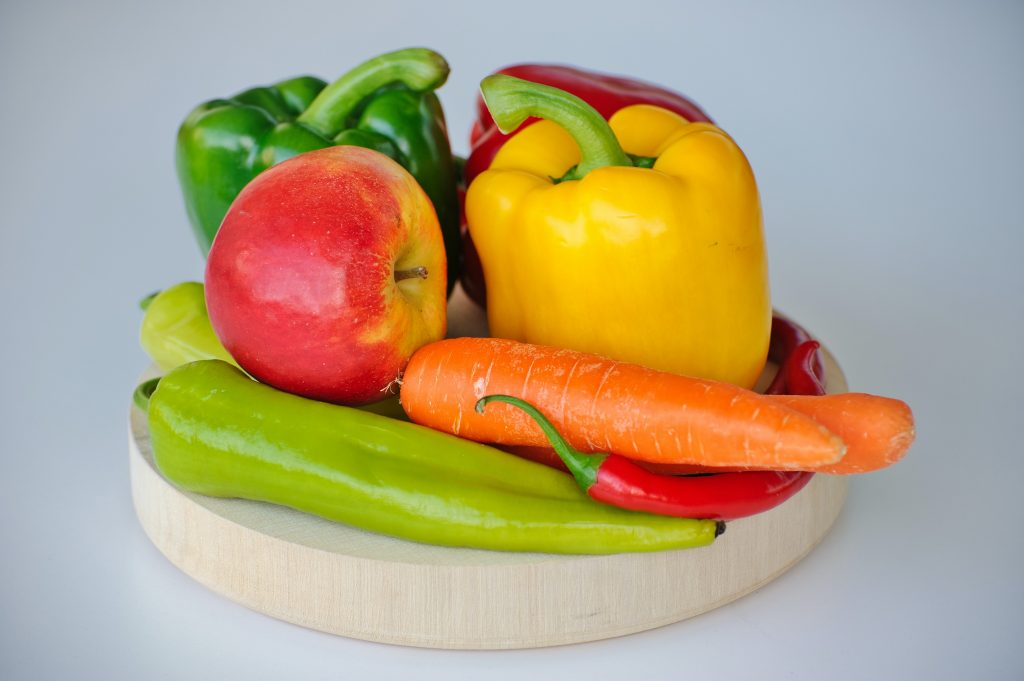 Fruits and vegetables with a high nutrient density will help you get in shape and lose weight.