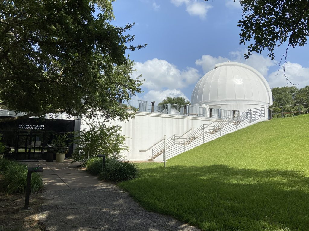 The Houston astronomical observatory
