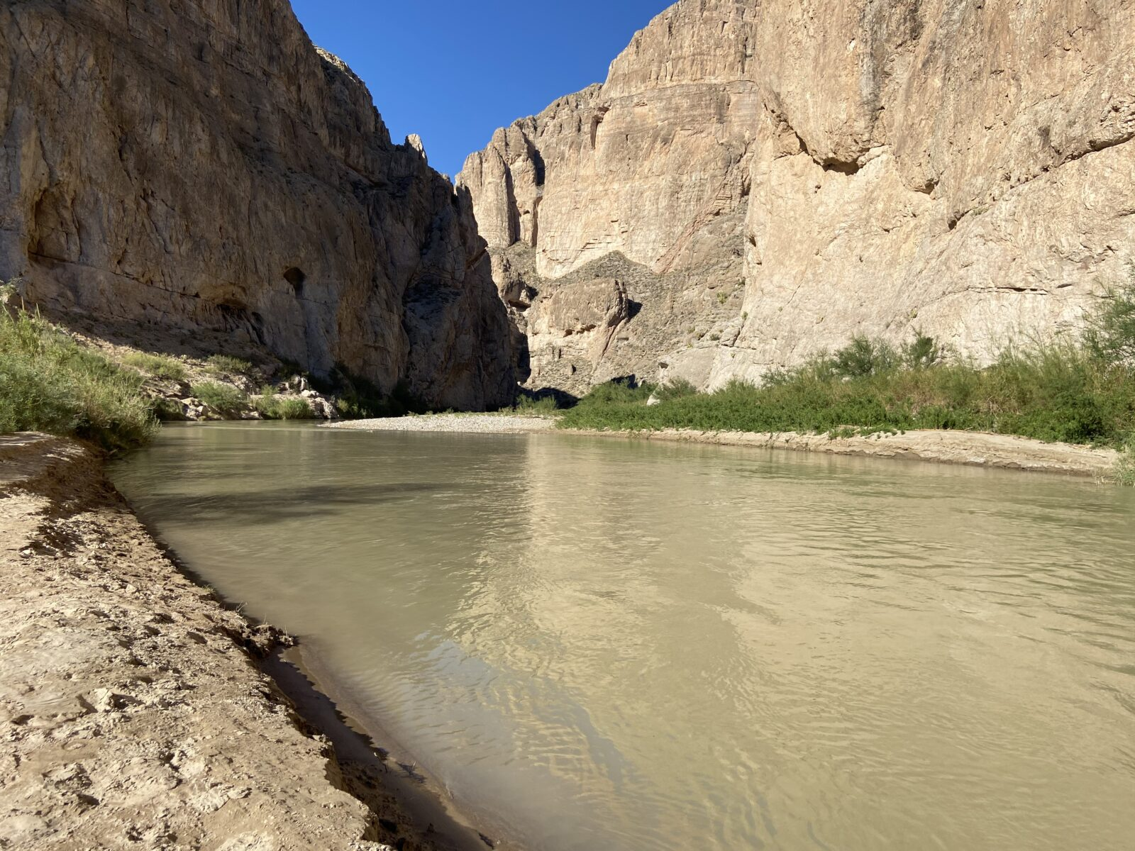 Boquillas Canyon at Big Bend National Park.