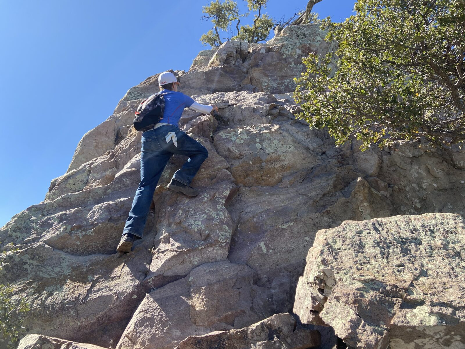 Emory Peak is the best hike in Big Bend National Park and you can find WiFi at the top.