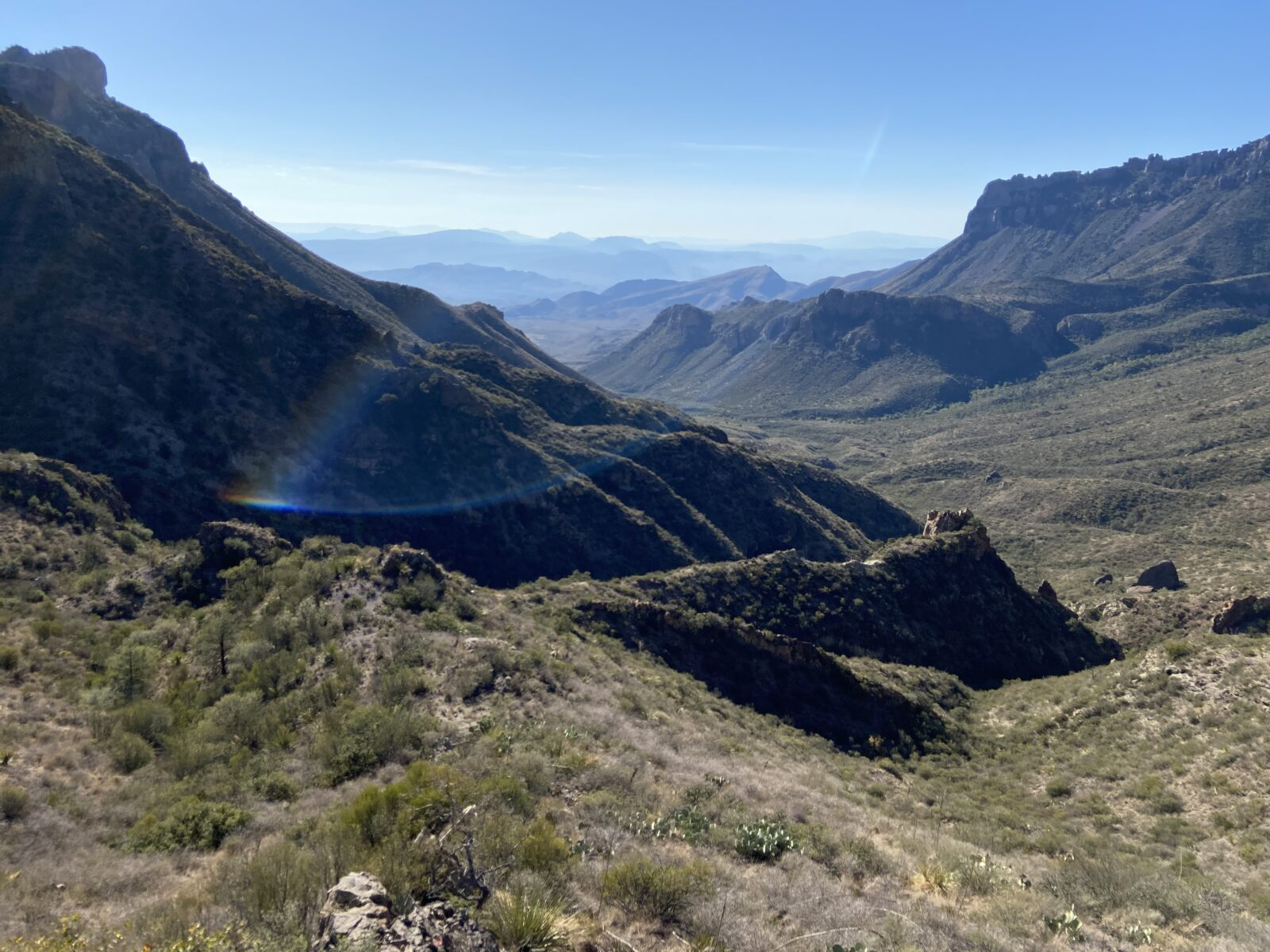 The Chisos Mountains are a good place to find WiFi in Big Bend National Park.