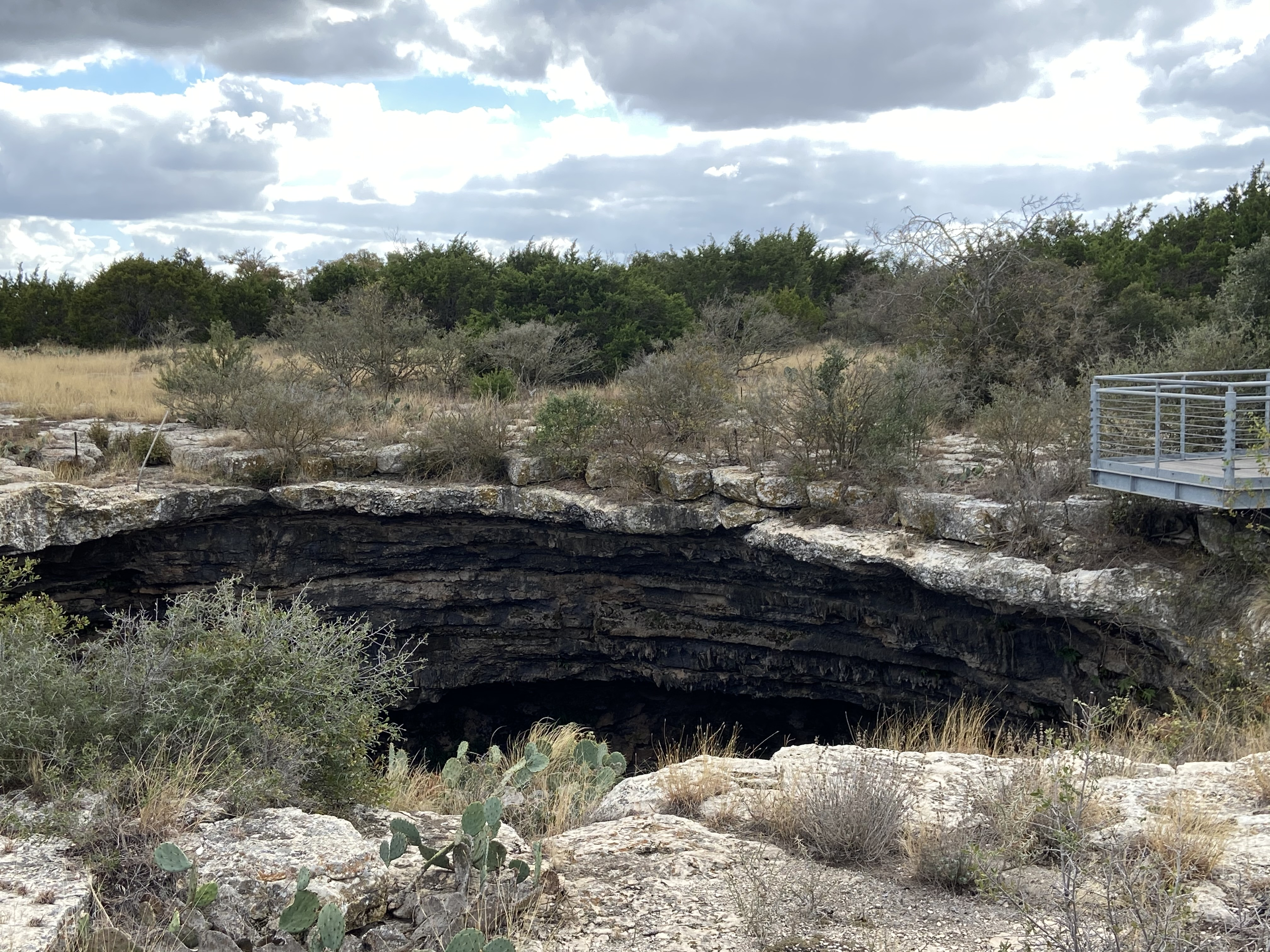 Devil's Sinkhole State Natural Area is only open with reservation in Texas Hill Country.